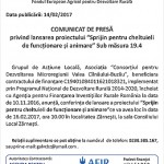 comunicat GAL Valea Cilnaului Buzau 14-02-2017