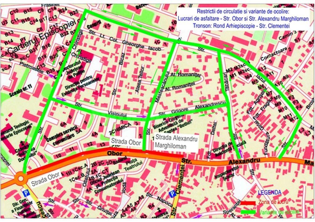 harta asfaltari buna