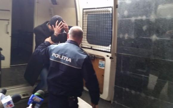 barbat retinut de politie catuse