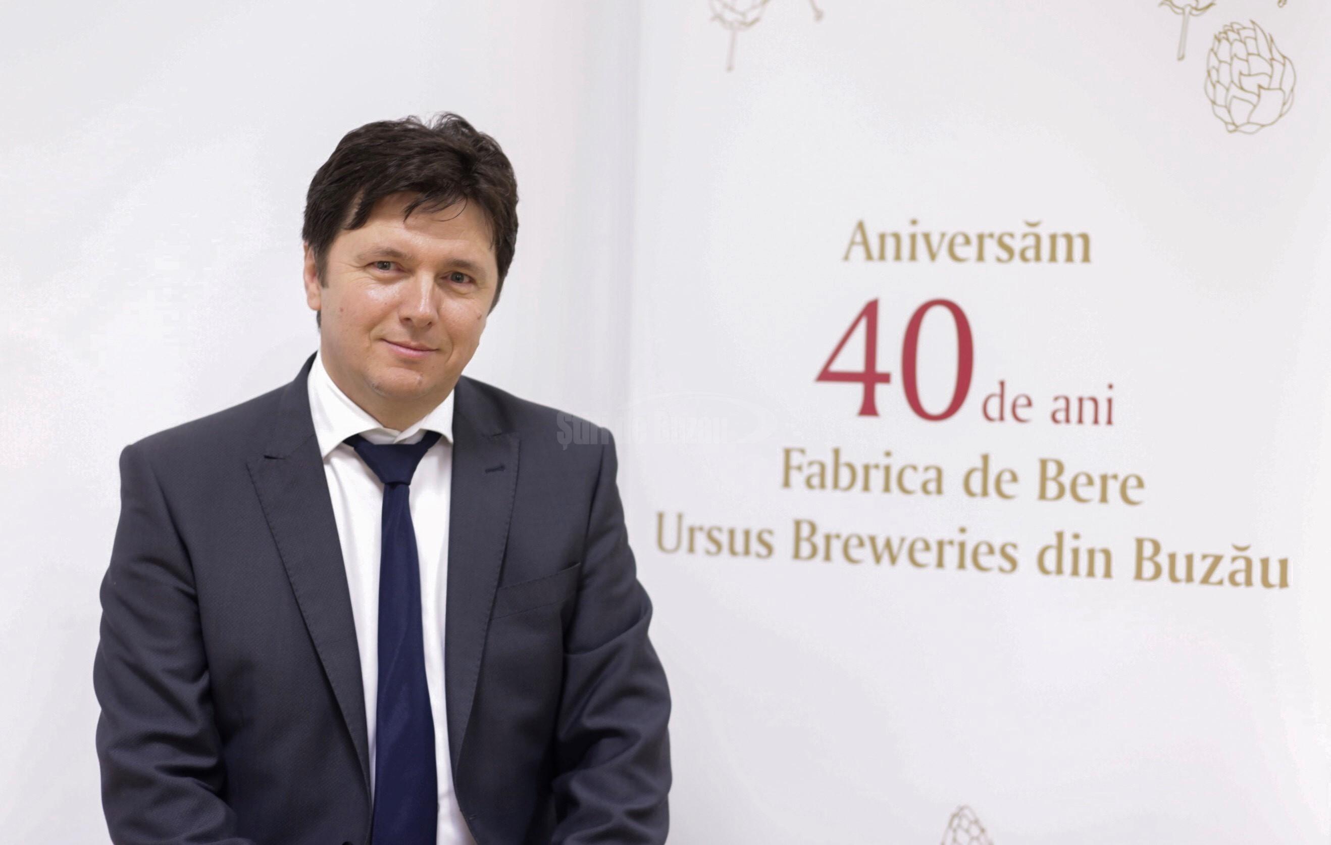 Sorin Harabagiu, Directorul Fabricii de bere Ursus Breweries din Buzău