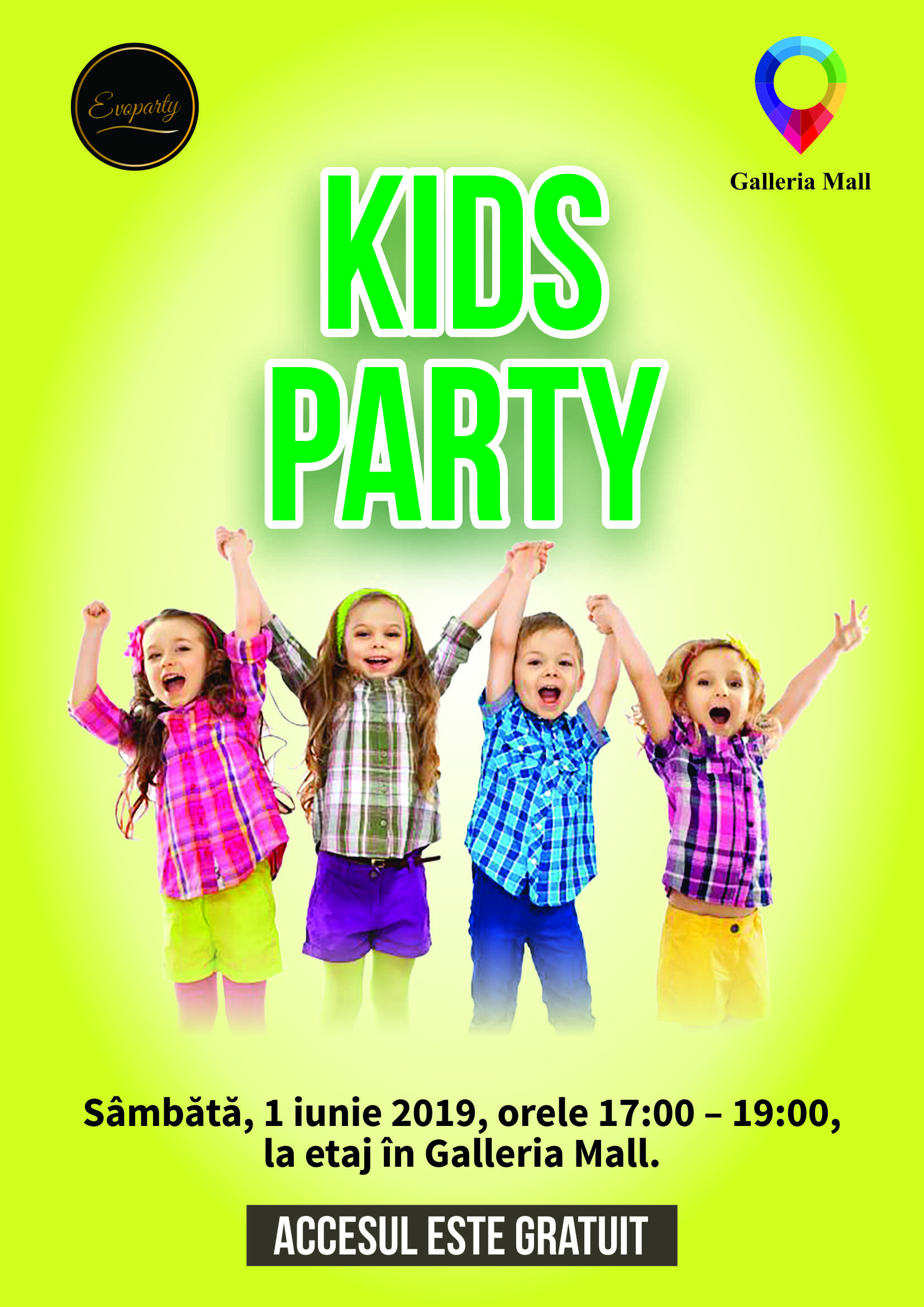 KIDS PARTY - EVOPARTY 2019