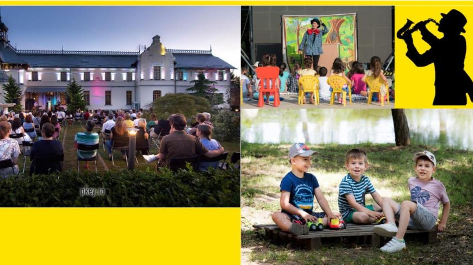 Concerte de rock și jazz, filme și proiecte educaționale, gratis, toată luna iulie, la Buzău. Oferta culturală, comunicată de Primăria Buzău