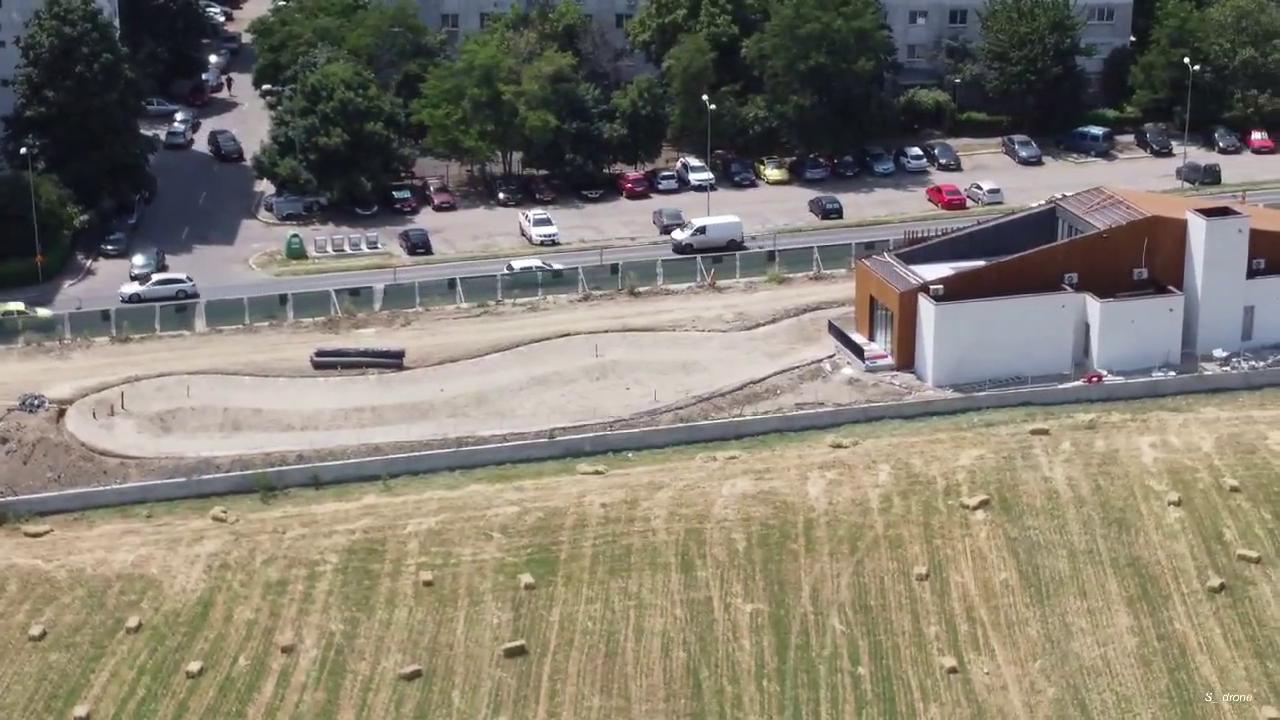 """VIDEO Cum arată """"Iazul Morilor"""" filmat din aer la două luni înainte de finalizare"""